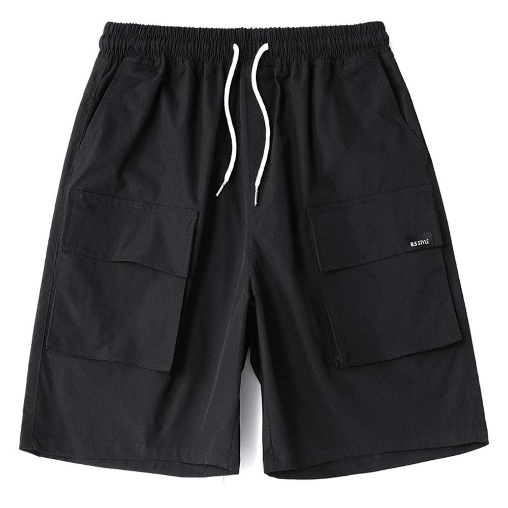 BIEOLY Tooling Shorts Summer Pants Mens Trend Casual Pants Loose