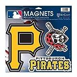 "MLB Pittsburgh Pirates 18928014 Vinyl Magnet, 11"" x 11"""