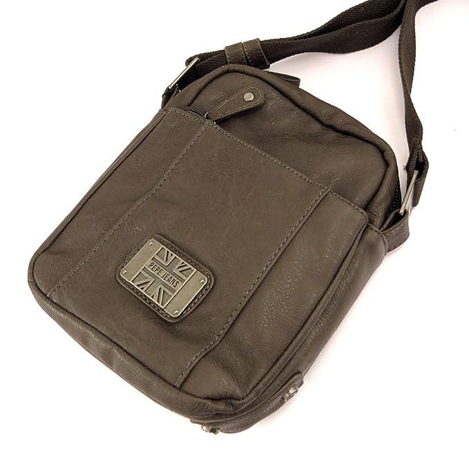 Amazon.com: Bolsa de hombro Pepe Jeans café.: Clothing