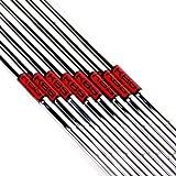 New KBS Tour 90 Steel Iron Shafts Stiff Flex 3-PW .355 Taper by KBS