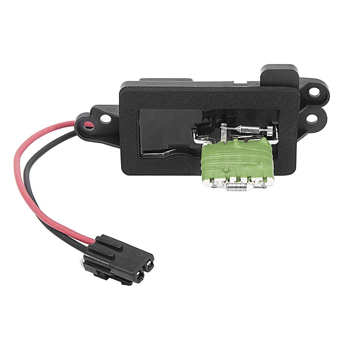 89019100 AC Heater Blower Motor Resistor For Trailblazer GMC Envoy Isuzu Car