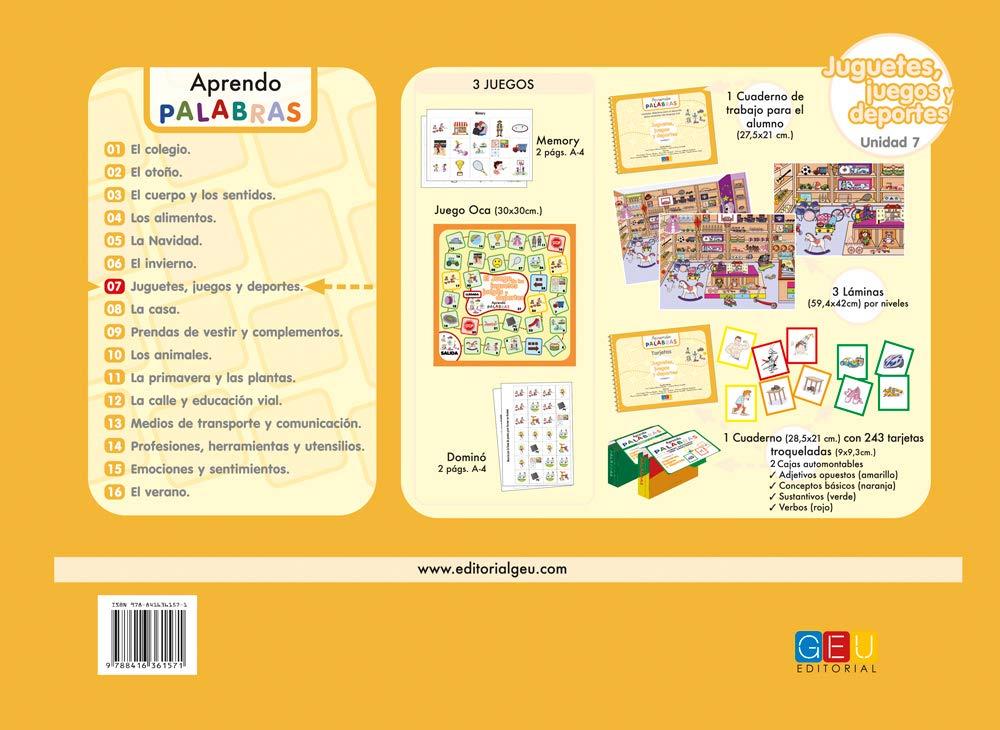JUGUETES, JUEGOS Y DEPORTES: CRISTINA;ALVAREZ MARTIN, ANA CRISTINA MORAN GORDILLO: 9788416361571: Amazon.com: Books