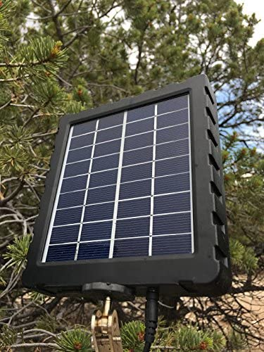 Bigfoot Solar Charger Kit with Mount- 1500mAH / 7.4- DC-12V- Trail Camera Solar Panel - for 3G or 4G Game Cameras and Other Outdoor Equipment