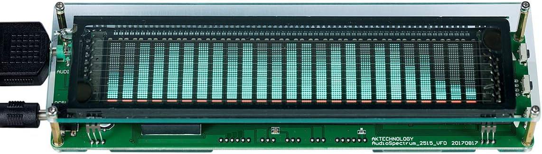 Nobsound Music Spectrum Audio 15 Level Indicator VU Meter Screen Amplifier VFD LED Display (PJ454)