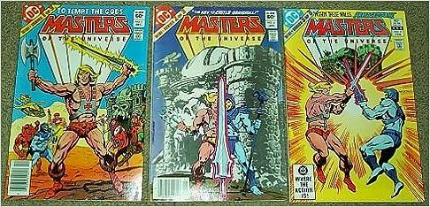 Amazon com: Masters of the Universe No  1-3 Mini Series (To
