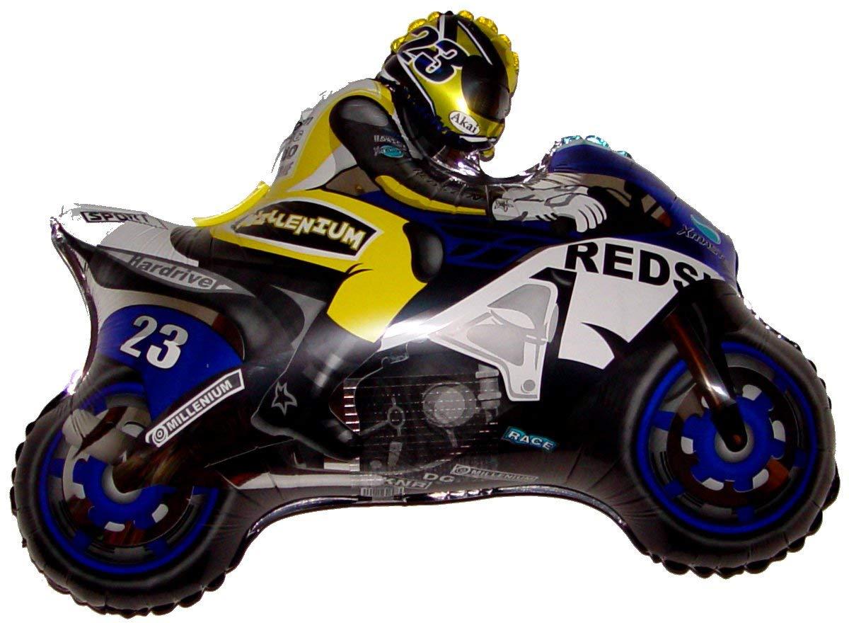 Moto Racerバイク(ブルー) 36