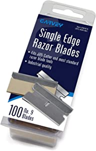 Garvey Economy Single Edge Cutter Blade, Box of 100 (40475)