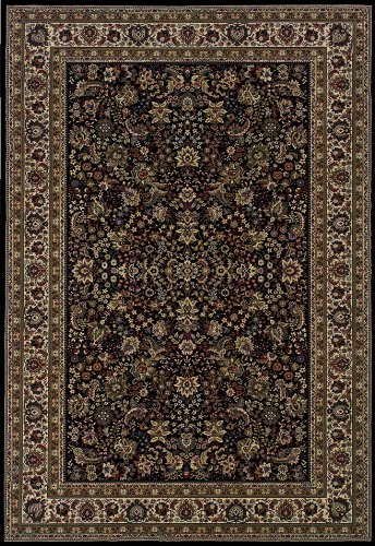 - Oriental Weavers Ariana 213K Area Rug, 4' x 6', Black
