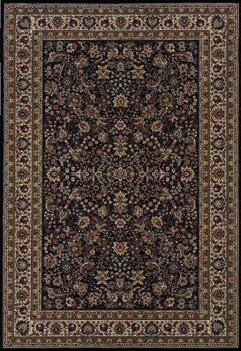 Oriental Weavers Ariana 213K Area Rug, 4 x 6 , Black