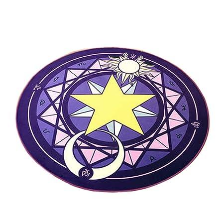 Patrón de círculo mágico alfombras redondas Alfombra de yoga ...