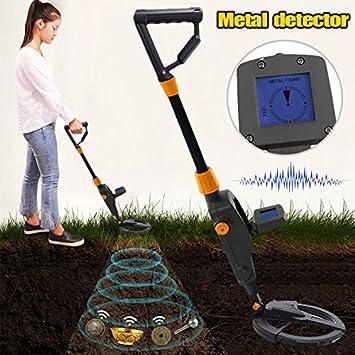 FidgetFidget - Detector de Metales para Máquina de Búsqueda en la Playa con Pantalla LCD: Amazon.es: Electrónica