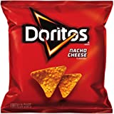 Doritos Nacho Cheese Flavored Tortilla Chips, 1 Ounce (Pack of 104)