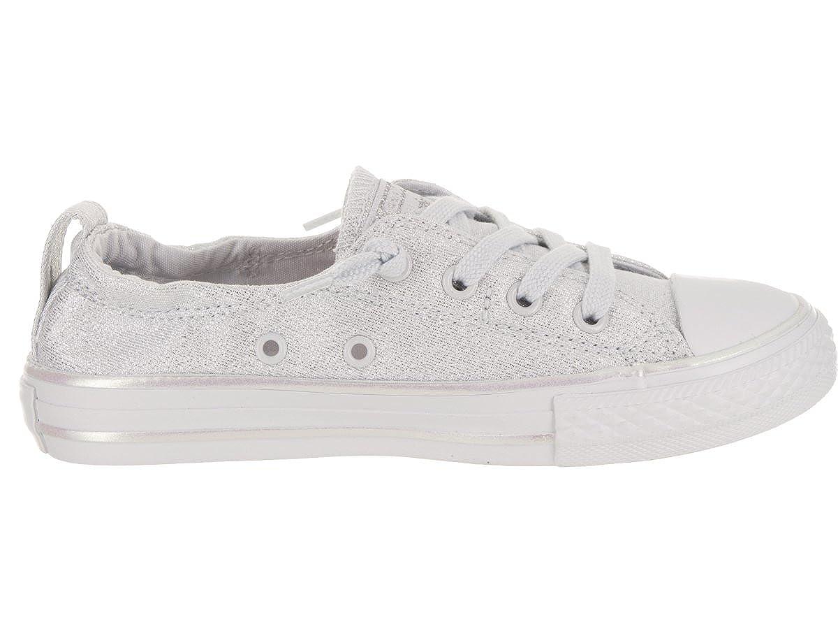 8f3709005c169b Amazon.com  Converse Kids Chuck Taylor All Star Shoreline Slip Pure Platinum  Pure Platinum Casual Shoe 2 Kids US  Shoes