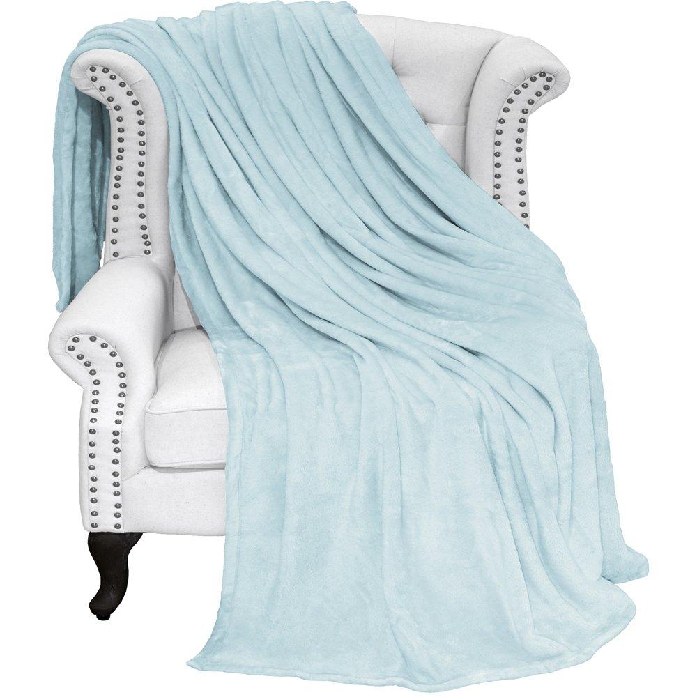 Ivy Union Ultra Soft Microplush Velvet Blanket - Luxurious Fuzzy Fleece Fur  - All Season Premium 26a95eb1a