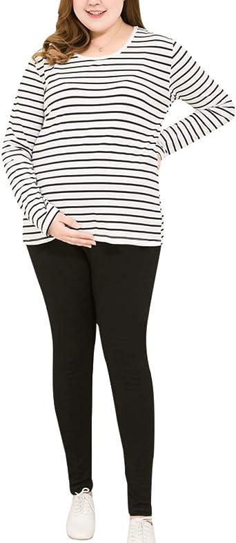 TAAMBAB Suave Polainas Pijama para Maternidad Mujer Elasticidad Leotardos - El Embarazo Algodón Polainas Extra Comodidad Pantalones: Amazon.es: Ropa y accesorios