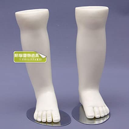 Amazon Com Welliestr One Pair Child Plastic Mannequin Foot Model