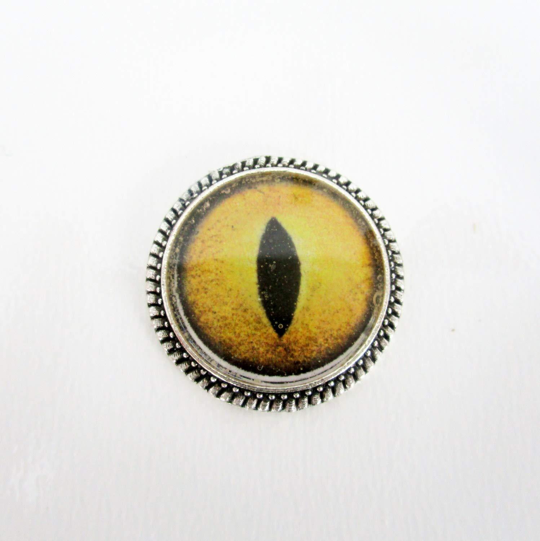 22mm Needle Minder Dragon Eye Yellow Needle Minder