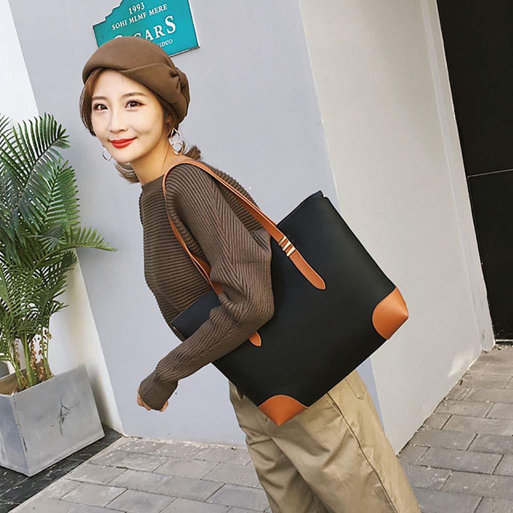 Hot Selling!!!♛HYIRI Trendy Womens Shoulder Bag Temperament Tote Bag Sleek Minimalist Versatile Handbag