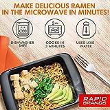 Top Ramen Rapid Cooker   Microwave Ramen in 3