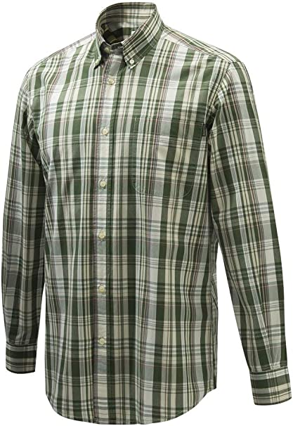 Beretta camisa Wood Button Down XXXL verde/morado/crema LU210T153301B2: Amazon.es: Deportes y aire libre