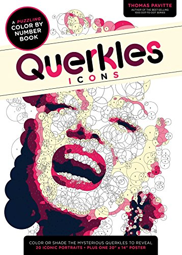 Querkles: Icons Paperback – October 13, 2015