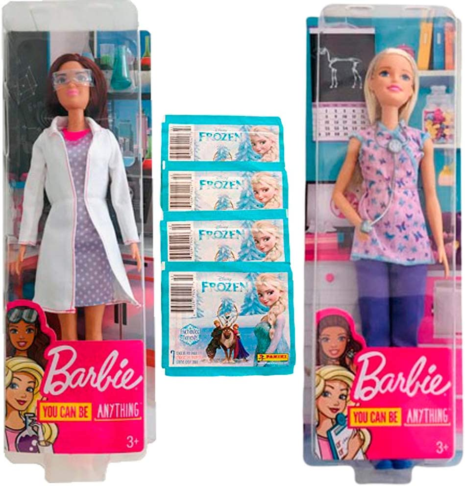 Amazon.es: Barbie Pack 2 You Can Be Anything (Enfermera y ...