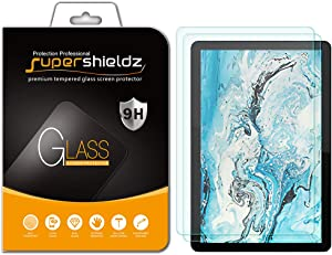 (2 Pack) Supershieldz for Lenovo Chromebook Duet 10.1 inch Screen Protector, (Tempered Glass) Anti Scratch, Bubble Free
