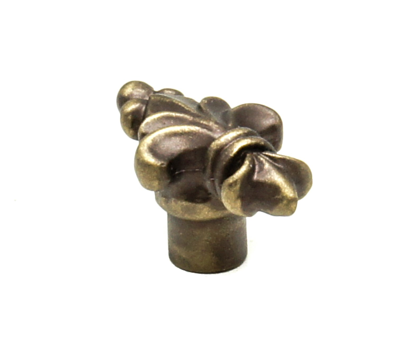 Carpe Diem Hardware 582-3 Charlemagne Knob Antique Brass
