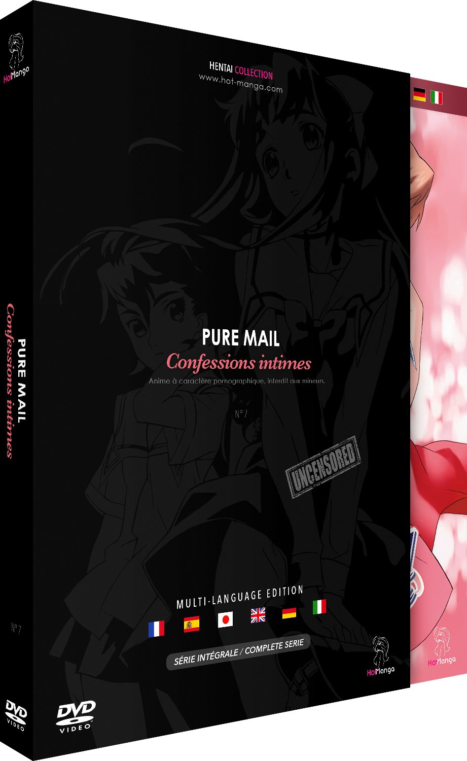 Intégrale pure mail - confessions intimes Francia DVD ...