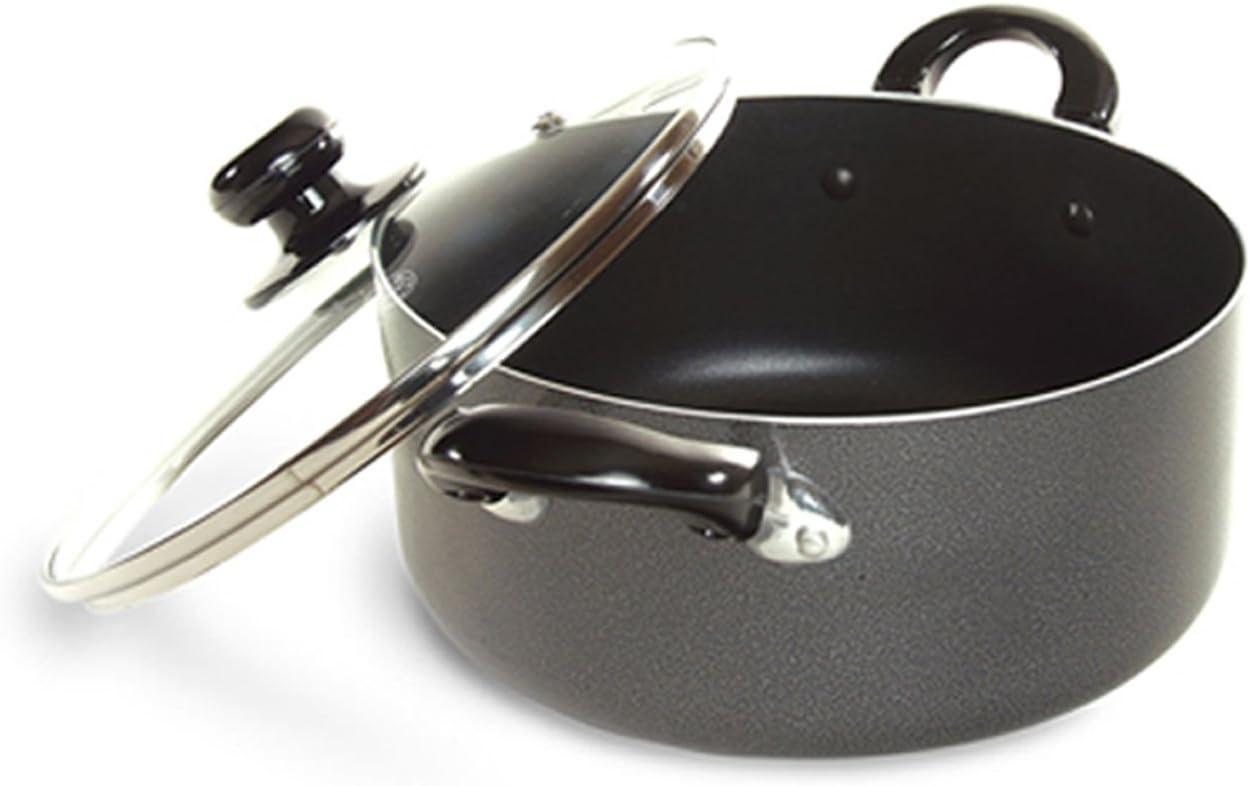 Better Chef 2-Quart Heavy-Gauge Aluminum Dutch Oven with Glass Lid