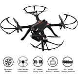 RCtown Brushless Drone, MJX Bugs 3 Quadcopter, Powerful Brushless Motors - 300Meters Control Distance - 15 Minutes Flying Time - Support Sport HD Camera