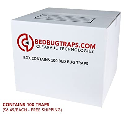 Amazon Com Bedbugtraps Com Co2 Bed Bug Traps 100 Garden Outdoor