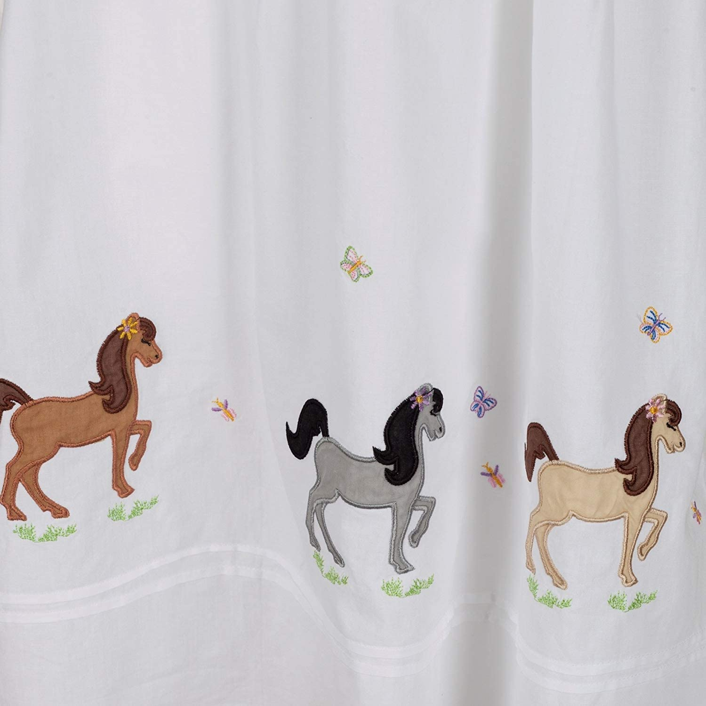 The 1 for U Girls 100/% Cotton Nightdress Horse Pony Nightie Age 4-12 Jessica
