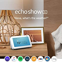 Echo Show 5 -- with Alexa and Video Calling