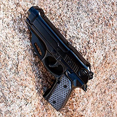 Best Black 1911 Pistol Knife for Gun Lovers - #1 Rated Folding Model by Under Control Tactical - Cool Gift For Your Husband, Wife, or Yourself! 100% Satisfaction Guaranteed!