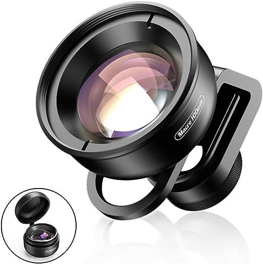 WYKDL Óptica de la cámara HD de teléfono Objetivo de 100 mm Macro ...