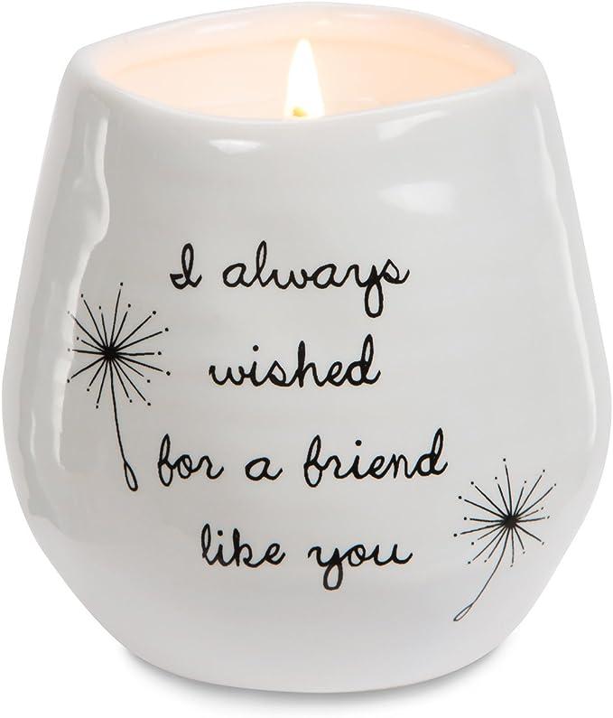 Pavilion Gift Company 77114 Plain Dandelion Candle