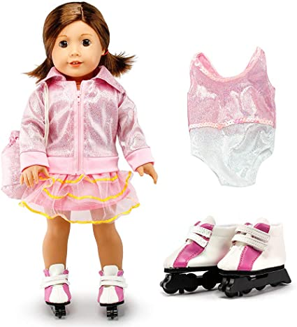 """My Life 18/"""" DOLL BAKER SET Chef Shoes Sleepwear Cook Set fIts American Girl"""