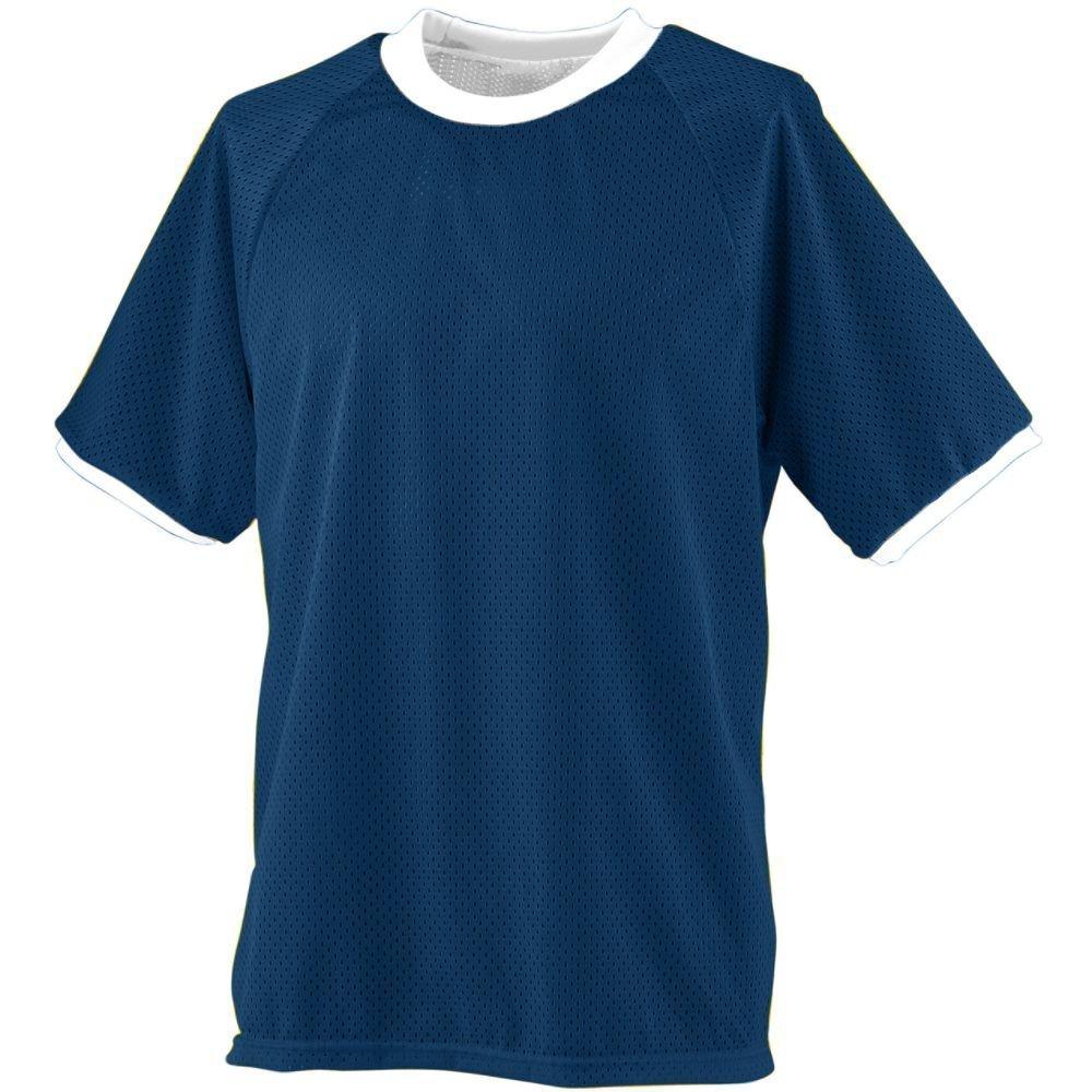 Augusta SportswearメンズリバーシブルPractice Jersey B003WXXXDI X-Large ネイビー/ホワイト ネイビー/ホワイト X-Large
