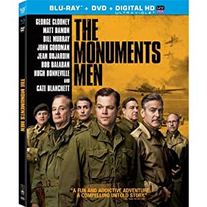 The Monuments Men [Blu-ray + DVD] (Bilingual)