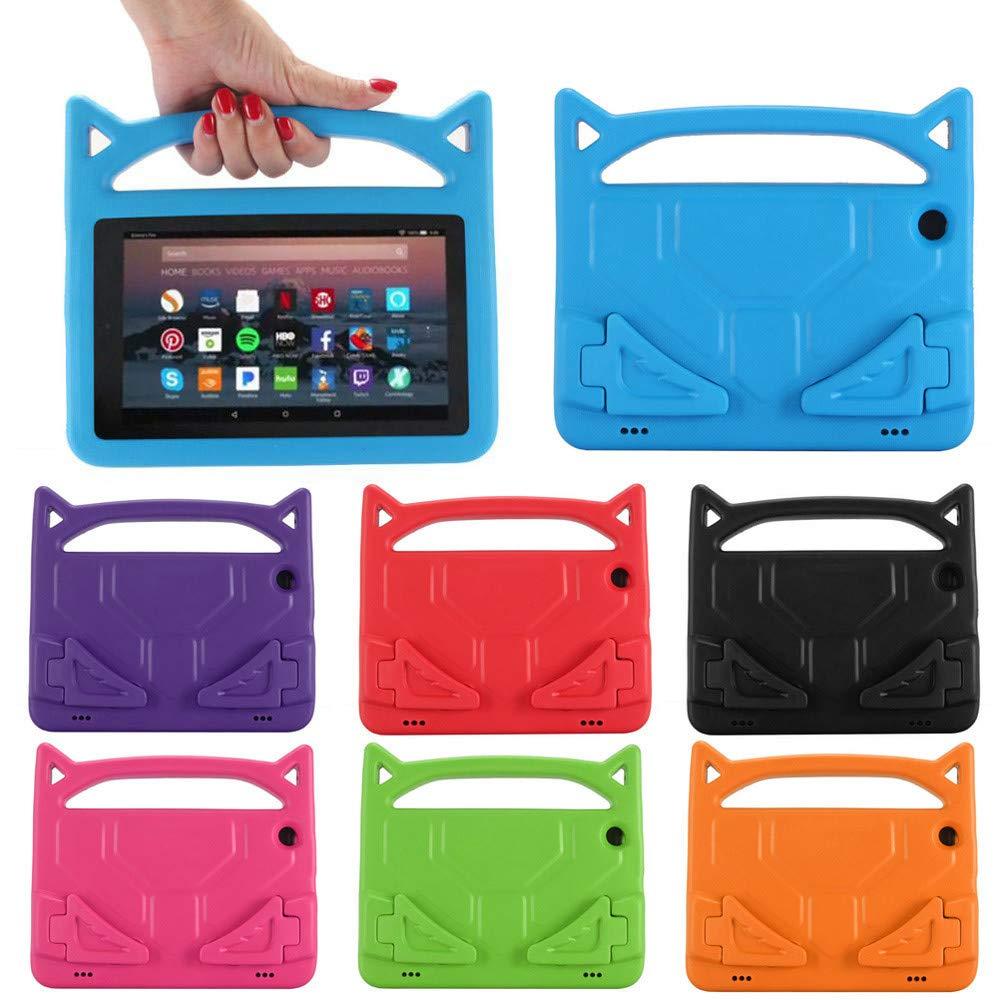 【代引き不可】 Aobiny Kindle Amazon Kindle Fire HD HD 8 2018 第8世代用 耐衝撃 キッズ 耐衝撃 ハンドルスタンド ソフトケース ブルー ブルー B07L2SNPDL, オウムチョウ:d5073d38 --- a0267596.xsph.ru