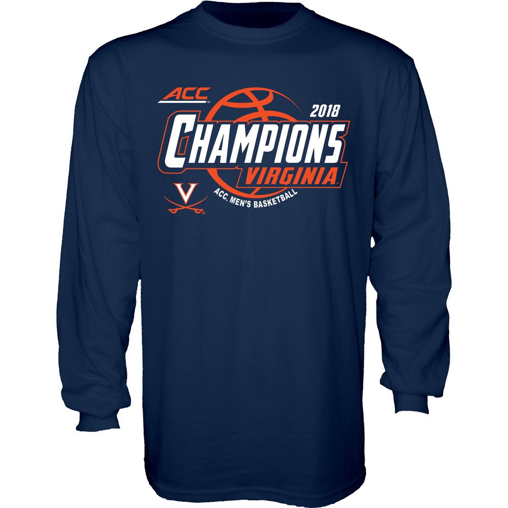 d4092b161 Amazon.com   Elite Fan Shop 2018 NCAA Basketball Conference Champs Long  Sleeve T Shirt Team Color   Sports   Outdoors