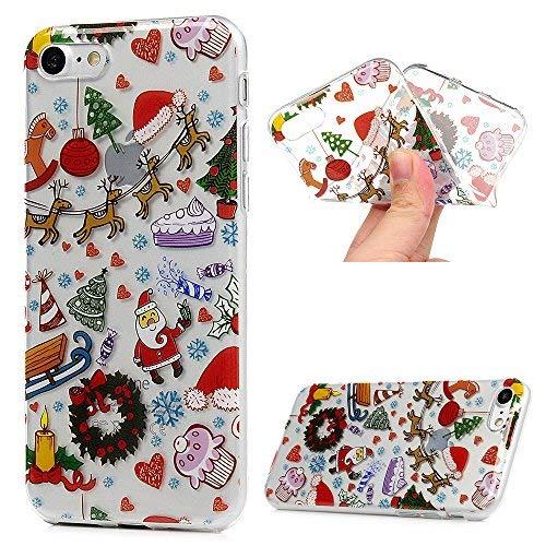 iPhone 7 Plus Case,iPhone 8 Plus Case, MOTIKO Christmas Seri
