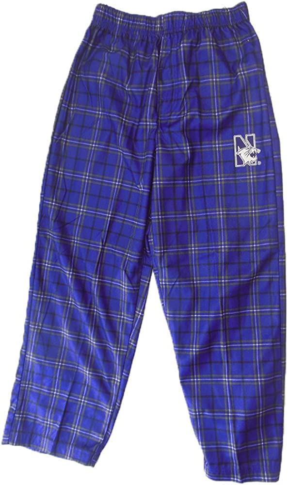 Northwestern Wildcats Genuine Stuff Youth Purple Plaid Pajama Pants