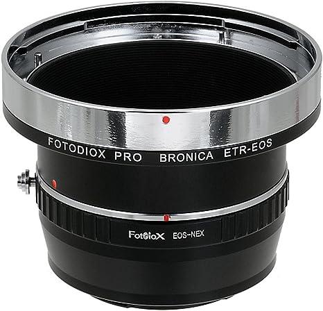 Fotodiox Pro Adaptores de Objetivo, Lentes Bronica ETR (ETRC, ETRS ...