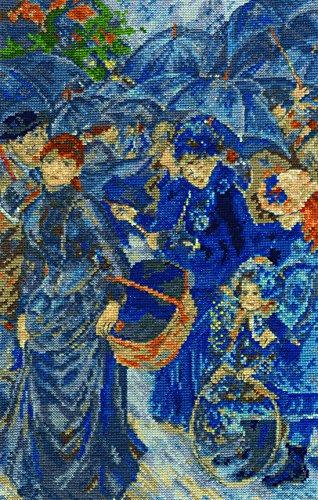 DMC Renoir - The Umbrellas Cross Stitch Kit