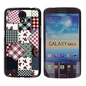 - Hipstr Nebula Aztec Tribal Pattern - - Fashion Dream Catcher Design Hard Plastic Protective Case Cover FOR Samsung Galaxy Mega 6.3 Retro Candy