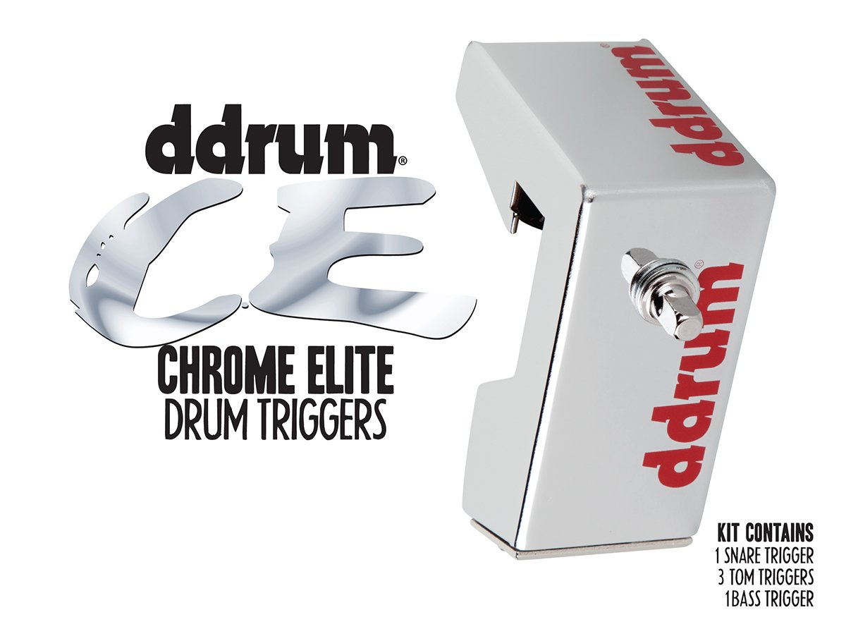 ddrum CETKIT Chrome Elite Drum Trigger Pack