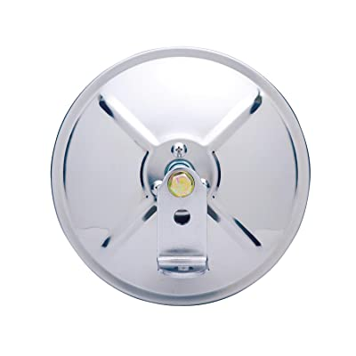 "Fit System CL060 6"" Stainless Steel Round Convex Mirror: Automotive"