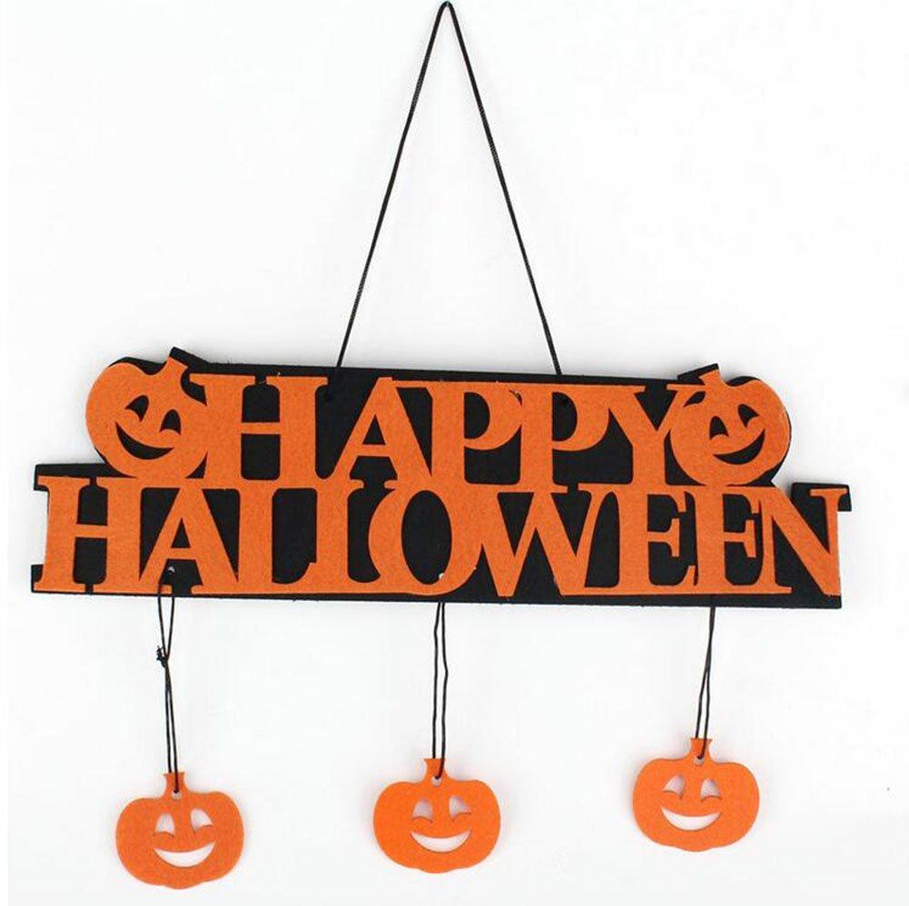 Westeng Halloween Décoration à Suspendu pour Porte Halloween Ornement Suspendu